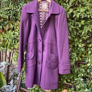 Tulle - Purple Trench coat
